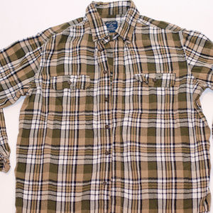 Faded Glory Casual Flannel Large